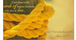 cords of human kindness